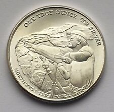 PAN AMERICAN SILVER CORP ONE TROY OUNCE .999 SILVER ROUND