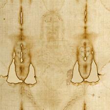 Shroud of Turin Jesus Full Fabric Print Vintage Antique Relic New Art Easter