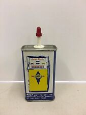 Vintage Sunoco Household Oil Handy Can Gas Pump Advertising
