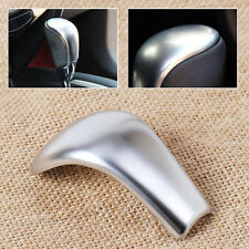 Chrome AT Gear Shift Knob Cover Fit For 2014 2015 Nissan Rogue X-Trail Sentra