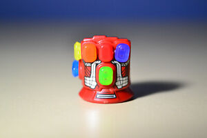 LEGO Marvel Super Heroes Red Infinity Gauntlet Glove with 6 stones