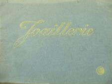 rare catalogue joaillerie 1900  Chaveton freres rubis emeraude platine or