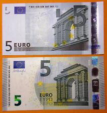 Paire FRANCE U 2 billets ancien et nouveau 2002 et 2013 5 euros neufs originaux