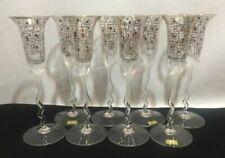 Set di bicchieri multicolore in vetro