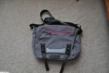 Patagonia Mini Mass Messenger Bag Crossbody Gray Computer Side Backpack EUC