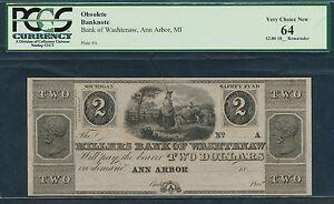 Ann Arbor, MI- Millers Bank of Washtenaw $2.1837-1839.