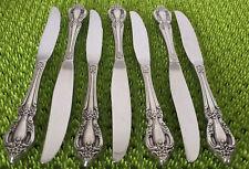New listing 7 Oneida Distinction Deluxe Raphael Dinner Knives Stainless Flatware