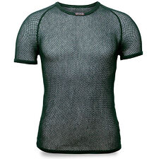 BRYNJE Super Thermo Mesh Warm Thermal Base Layer Underwear Top T-shirt Green 2xl