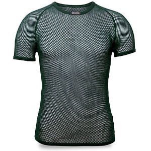 Brynje Super Thermo Mesh Warm Thermal Base Layer Underwear Top T-Shirt Green NEW