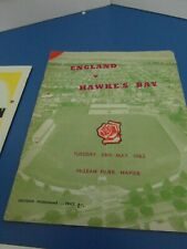 More details for 1963 hawkes bay   v england   rugby union programme