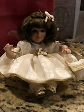Marie Osmond Ann Marie Holiday Tiny Tot Doll Numbered Limited Ed. W COA NECKLACE