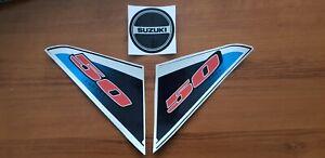 SUZUKI LT50 DECALS GRAPHICS STICKERS FUEL TANK / PULL START a1