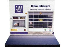 Diorama présentoir Saab - Björn Bilservice - 1/43ème - #43-2-A-A-025