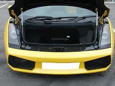 Carbon fiber front hood lock cover fit Lamborghini Gallardo 03-07 LP540 Coupe