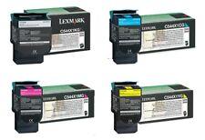 4 Original Toner LEXMARK C544n C544dn X544dn X544dw X546dtn / C544X1KG -C544X1YG