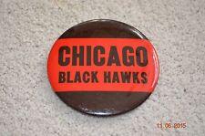 CHICAGO BULLS BLACK HAWKS VINTAGE PIN