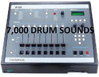 7000 SOUNDs Vintage Drum Machine SAMPLES KIT Drum Machine MV-800 Boss Novation