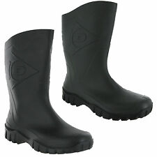 Wide Calf Wellingtons Dunlop Half Length Wellies Unisex Mens Womens Boots UK4-12