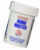 Numb Master Topical Anesthetic Cream, 1 oz. 5% Lidocaine, Non-oily