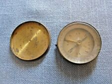 New listing Nice Compass - Brass with Cover - Iw Era