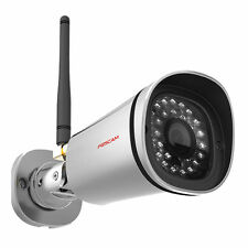 Foscam FI9800P 720P HD 1MP IP Bullet Camera Wireless Outdoor CCTV View on Phone