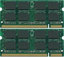 2GB 2x1GB Dell Latitude D820 SODIMM Laptop Memory DDR2 TESTED