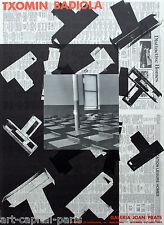 TXOMIN BADIOLA AFFICHE 1992 TIRÉE EN LITHOGRAPHIE LITHOGRAPHIC POSTER POLIGRAFA