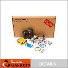 Full Gasket Pistons Bearings Rings Set Fit 98-01 Chevrolet Metro Swift 1.3