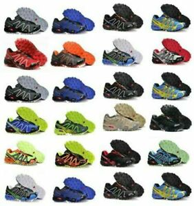 Salomon Speedcross 3 Herren Outdoorschuhe Laufschuhe Cross Schuhe Hikingschuhe D