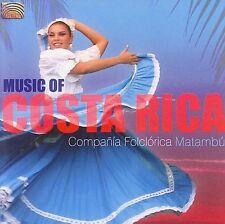 COMPANIA FOLCLORICA MATAMBU - THE MUSIC OF COSTA RICA NEW CD