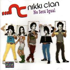 NIKKI CLAN No Sera Igual CD New & Sealed TE QUIERO TANTO TANTO OV7 cover version
