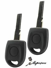 VOLKSWAGEN TRANSPONDER CHIP UNCUT IGNITION KEY 500 x2