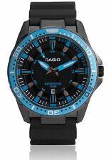 Casio MTD1072-2A Mens 100M Diver Anti-Reverse Blue Sports Watch Steel Case NEW