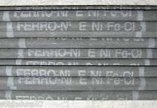 25 Elettrodi per Saldare PER FUSIONE GRIGIO FeNiCl 2,5 mm Saldatura FERRO FUSO