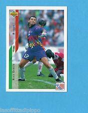 Figurina/CARDS-UPPER DECK 94 -WC USA 94- n.27- ALEX GARCIA - MESSICO