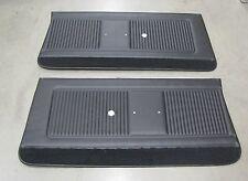 1966 GTO LEMANS FRONT DOOR PANELS, BLACK