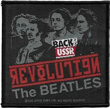 Official Merch Woven Sew-on PATCH Back in the USSR : THE BEATLES Revolution