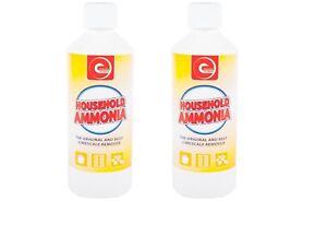 Ammonia Household Multi Purpose Cleaner Twin Pack - 500ml x2