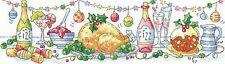 Heritage Crafts Cross Stitch Kit - Christmas Dinner