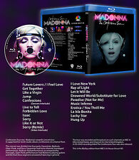 MADONNA ARTWORK CONFESSIONS TOUR BLURAY BLU RAY FULL REBEL DVD PROMO GIRL PRAYER