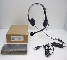 Plantronics Audio 400 DSP Foldable Multimedia Gaming Computer Headset New in Box