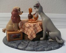 LADY & THE TRAMP MUSICAL FIGURINE *RARE* EARLY 90'S