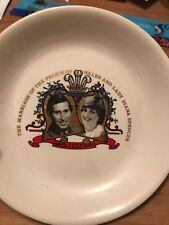 Charles And Diana Comemorative Plate