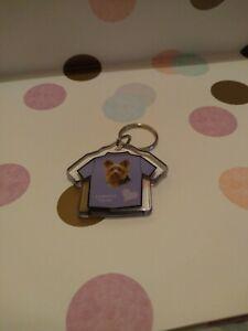 Yorkshire Terrier Lilac T-Shirt Keyring
