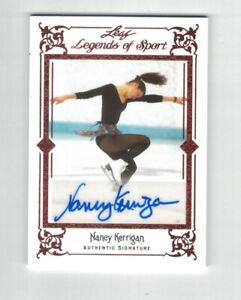 NANCY KERRIGAN 2012 Leaf Legends Of Sport AUTO Bronze BA-NK1 Figure Skating USA