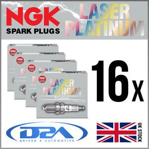 16x NGK PFR5G-11 (2647) Laser Platinum Spark Plugs For MERCEDES ML430 4.3 98-->