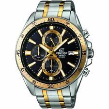 Casio Edifice Mens Chronograph Luxury Sports Watch 100M EFR546SG-1AV UK Seller
