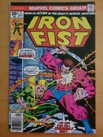 Iron Fist #7 Marvel (1976) Kung Fu Bronze Age Comic. Nice Copy