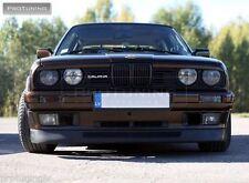 BMW E30 Ancho de rendimiento Parachoques Delantero Alerón Labio Barbilla Addon cenefa Divisor de M3