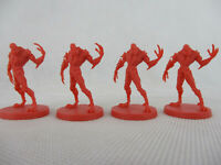 Zombicide: Dark Side Lot of 4 ALTERNATE DRILLER WORKER Miniatures #18-6 NEW!!